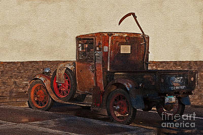 Photograph - An Old Truck II by Donna Greene