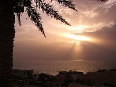An Omani Sunset Original by Sunaina Serna Ahluwalia