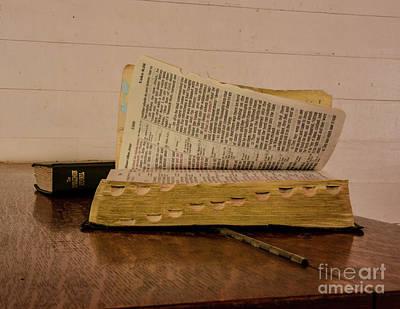 Photograph - An Open Book by John Greco