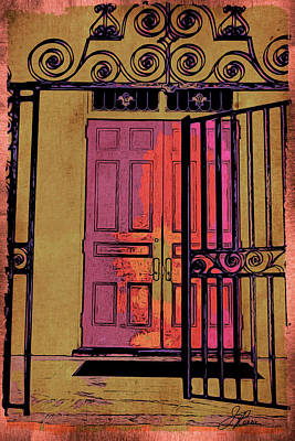 Photograph - An Open Gate by Joan Reese