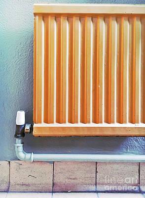 Water Filter Photograph - An Orange Radiator by Tom Gowanlock