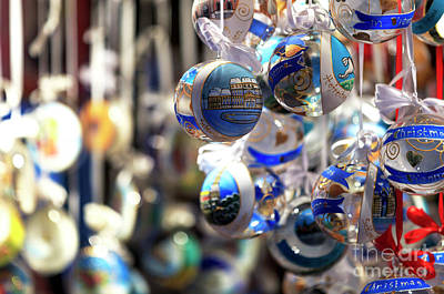 Photograph - An Ornament For Christmas In Vienna by John Rizzuto