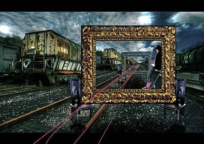 An Other Train Station Original by Konstantinos Aspiotis