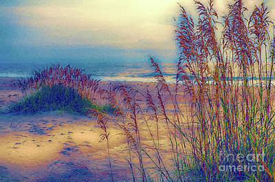 Painting - An Outer Banks Beach Ap by Dan Carmichael