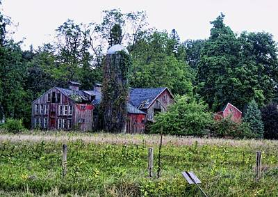Photograph - An Over Worked Farm by Gerald Salamone