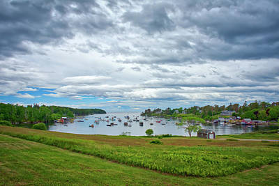 Photograph - An Overcast Day At Mackerel Cove by Guy Whiteley