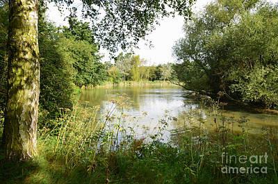 Pond Photograph - An Oxfordshire Pond by Nichola Denny