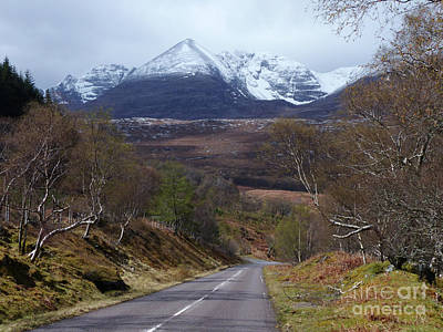 Photograph - An Teallach From The A832 Near Dundonnell by Phil Banks