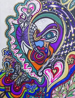 Painting - An Upset Moment by Laurel Rosenberg