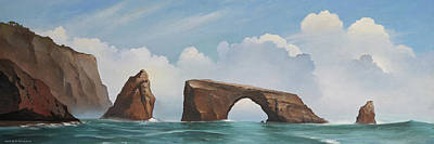 Painting - Anacapa Island by Cliff Wassmann