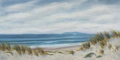 Anacapa Island Thru The Dunes Lll Original by Tina Obrien