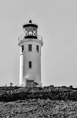 Photograph - Anacapa Lighthouse California by David Millenheft