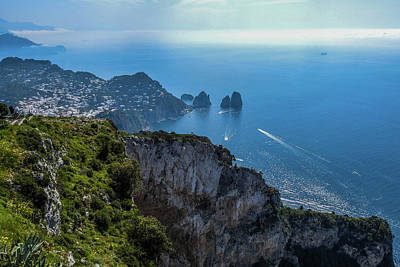 Photograph - Anacapri On Isle Of Capri by Marilyn Burton