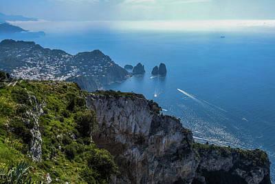 Anacapri On Isle Of Capri Art Print
