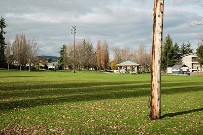 Photograph - Anacortes Playground In November by Tom Cochran