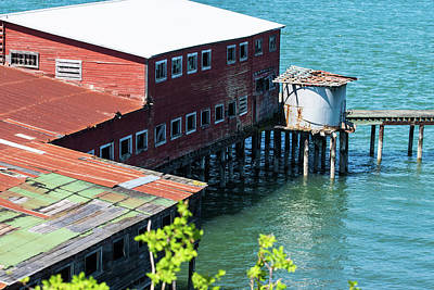 Photograph - Anacortes Warehouse by Tom Cochran