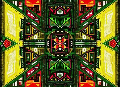 Digital Art - Anahata I by Felipe Perez