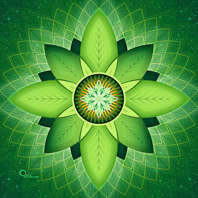 Digital Art - Anahata by Soul Structures