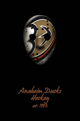 Photograph - Anaheim Ducks Established by Joe Hamilton