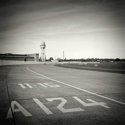Berlin Photograph - Analog Black And White Photography - Berlin - Tempelhofer Feld by Alexander Voss