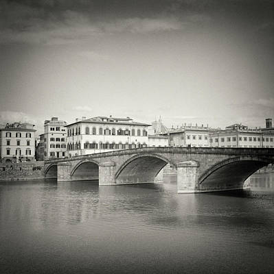 Analog Photograph - Analog Black And White Photography - Florence by Alexander Voss