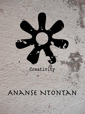 West Africa Mixed Media - Ananse Ntontan Adinkra Symbol by Kandy Hurley