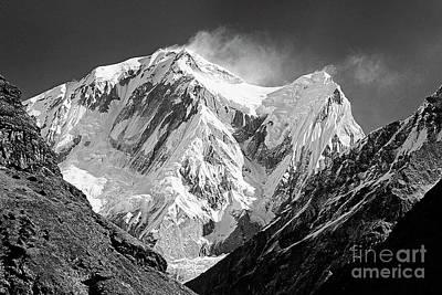 Photograph - Anapurna Four - Nepal by Craig Lovell