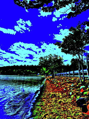 Photograph - Anasagunticook Lake, Canton, Me, Usa 22 by George Ramos