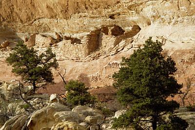 Photograph - Anasazi Dwelling by John Farley