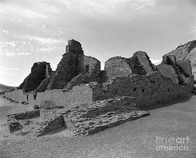 Anasazi Ruins In Chaco Canyon Original by Arni Katz