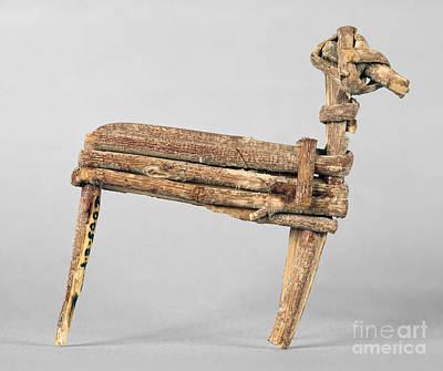 Photograph - Anasazi Split-twig Figure by Granger