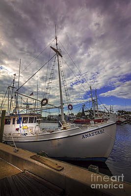 Fishing Boat Photograph - Anastasi by Marvin Spates