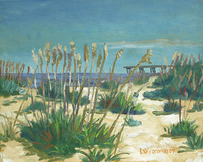 Painting - Anastasia Island by D T LaVercombe