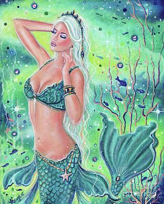 Anastasia Mermaid Art Original