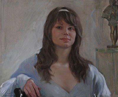 Painting - Anastasya by Korobkin Anatoly