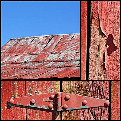 Photograph - Anatomy Of An Old Barn- Fine Art by KayeCee Spain