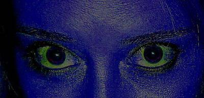 Anatomy Of The Eyes Art Print by Debbie May