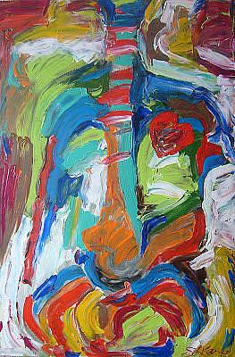 Painting - Anatomy by Sarah LaRose Kane