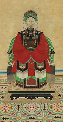 Ancestor Painting - Ancestor Portrait by MotionAge Designs