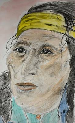 Painting - Ancestor by Susan Snow Voidets