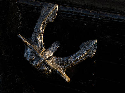 Photograph - Anchor 365-311 by Inge Riis McDonald