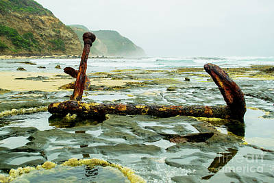 Photograph - Anchor At Rest by Angela DeFrias