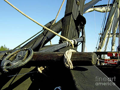 Photograph - Anchor On The Pinta by D Hackett