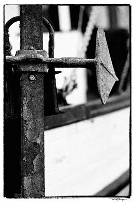 Photograph - Anchor by Travis Burgess