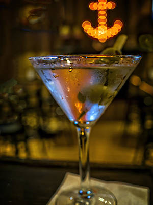 Martini Royalty-Free and Rights-Managed Images - Anchor Your Martini by David Kay