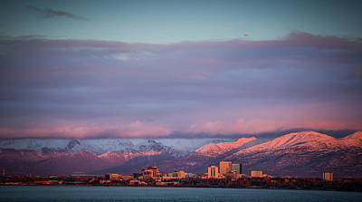 Photograph - Anchorage Alaska by Chris Multop