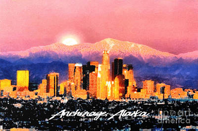 Anchorage - Bright-named Art Print
