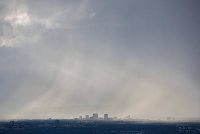 Photograph - Anchorage Rain Squall by Tim Newton