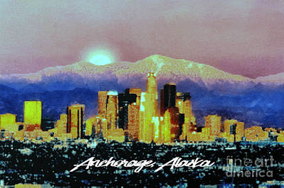 Anchorage-subdued Art Print