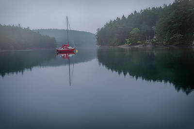 Photograph - Anchored At Horton Bay by Jacqui Boonstra